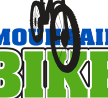 Mountain Bike Cycling Bicycle  Sticker