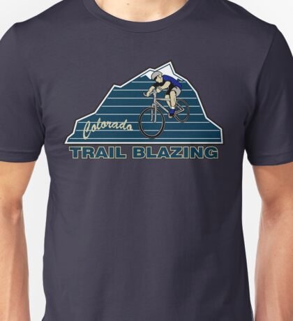 Bike Cycling Colorado Mountain Biking Unisex T-Shirt