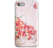 Red Leaf Joy iPhone Case/Skin