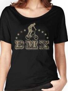 BMX Bike Cycling Bicycle  Women's Relaxed Fit T-Shirt