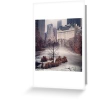 iPhone Rolling Fog Greeting Card