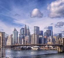 NYC...Beyond The Brooklyn Bridge by Leanne Stewart