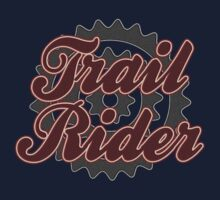 Trail Rider Bike Cycling Bicycle  by SportsT-Shirts