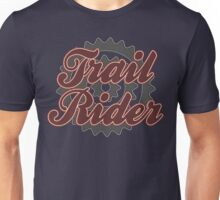 Trail Rider Bike Cycling Bicycle  Unisex T-Shirt