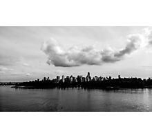 Clouds Over Vancouver Photographic Print