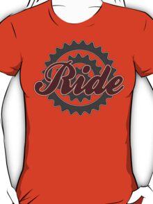 Ride Bike Cycling Bicycle  T-Shirt