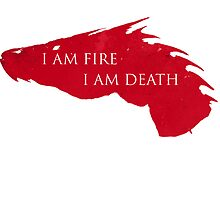 I am fire I am death by elorah