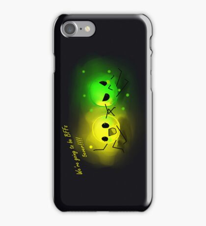Friendship can be hard iPhone Case/Skin