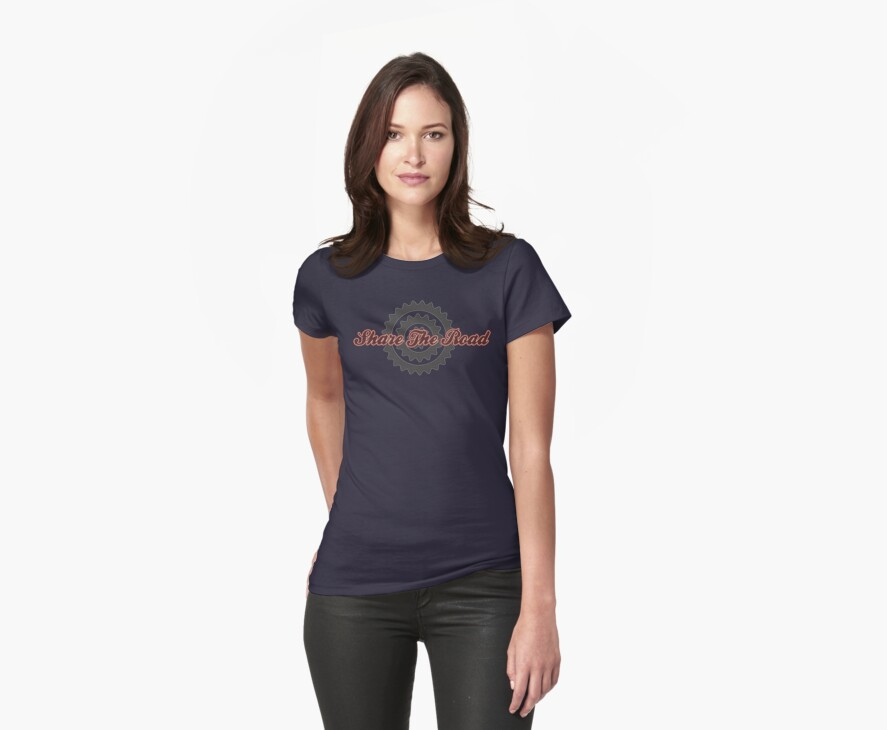 Bike Cycling Share The Road by SportsT-Shirts