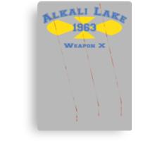 Alkali Lake Canvas Print
