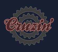 Bike Cruising Cruzin Cycling Bicycle  by SportsT-Shirts