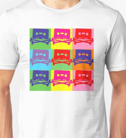 Pop Art Tape and Bones Unisex T-Shirt