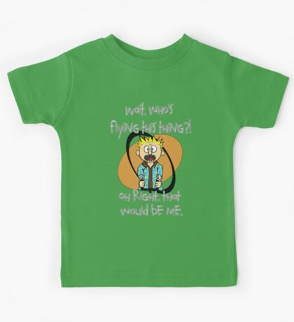Who's Flying This Thing?! Kids Tee