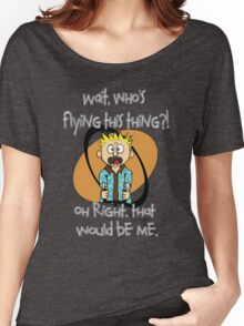 Who's Flying This Thing?! Women's Relaxed Fit T-Shirt