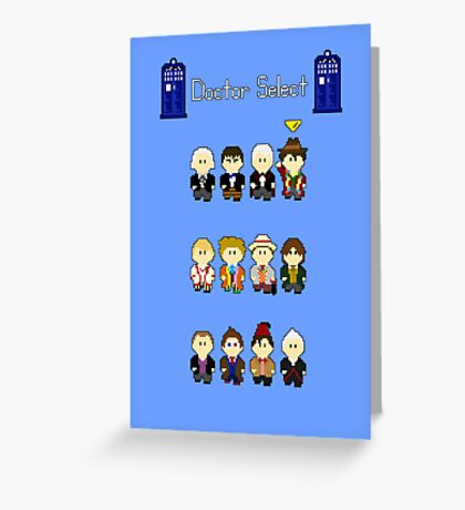Doctor Select Greeting Card