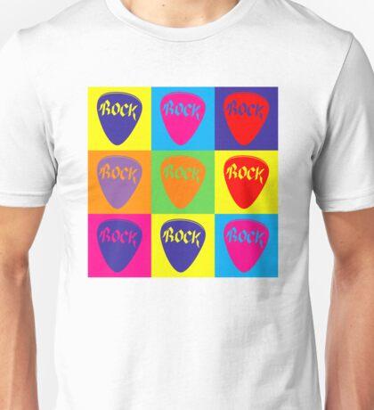 Pop Art Rock Pick Unisex T-Shirt