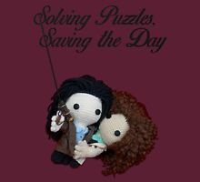 Solving Puzzles, Saving the Day Unisex T-Shirt