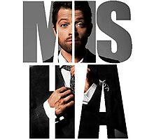Misha Misha Misha Collins Photographic Print