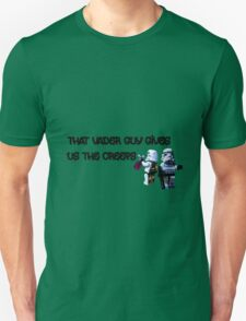 That Vader Guy Gives Us the Creeps by Tim Constable T-Shirt