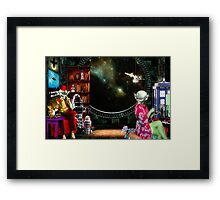 ~ They only argued when it came to the collection ~ Framed Print