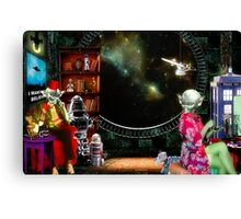 ~ They only argued when it came to the collection ~ Canvas Print