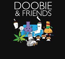 Doobie and Friends - White text Unisex T-Shirt