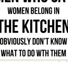 Men In The Bedroom UK Sticker