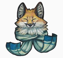 Foxy Scarf by Lions in Caffeine