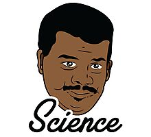 Black Science Man Photographic Print