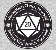 Perception Check Yourself Before You Wreck Yourself One Piece - Short Sleeve