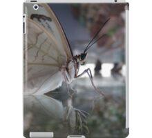 Butterfly reflection iPad Case/Skin
