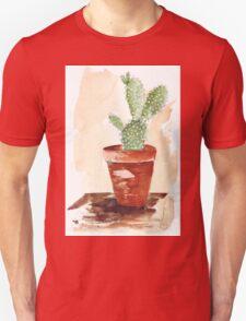 Bunny Ears Cactus (Opuntia microdasys) Unisex T-Shirt