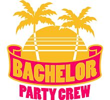 Bachelor Party Palms Holiday by Style-O-Mat