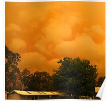 Fires in East Gippsland - February 2014 Poster