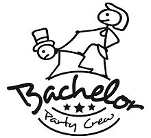 Bachelor Party man on a leash by Style-O-Mat