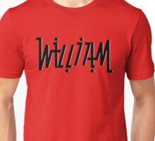 William ambigram Unisex T-Shirt