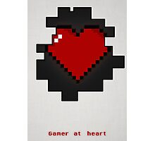 Gamer at heart Photographic Print