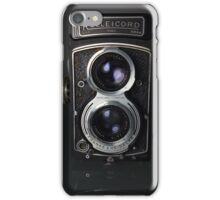 Rolleicord V Twin Lens Reflex camera iPhone Case/Skin