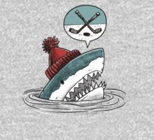 The Hockey Shark One Piece - Long Sleeve