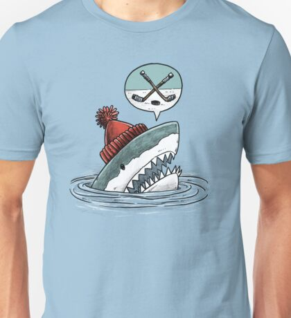The Hockey Shark Unisex T-Shirt