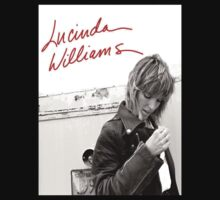 Early 80s Lucinda Williams Promo Portrait by RighteousTees