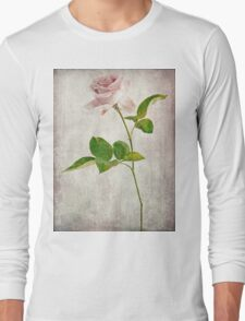 Shabby Chic English Tea Rose  Long Sleeve T-Shirt