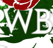 RWBY rose Sticker