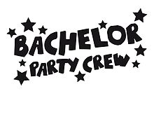 Bachelor Party Crew Design by Style-O-Mat