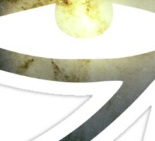 Illuminati Eye: Whirlpool Galaxy V2 | New Illuminati Sticker