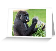Eat your Vegetables Greeting Card