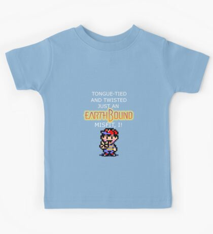 An EarthBound Misfit Kids Tee
