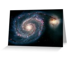 Illuminati Eye: Whirlpool Galaxy V2 | New Illuminati Greeting Card