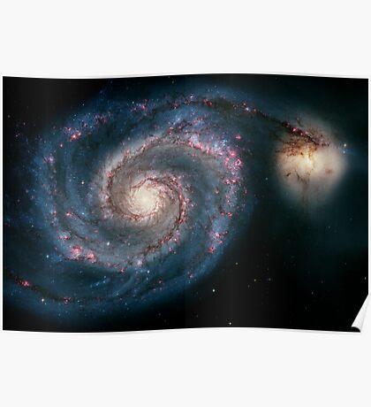 Illuminati Eye: Whirlpool Galaxy V2   New Illuminati Poster