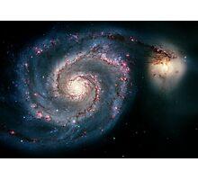 Illuminati Eye: Whirlpool Galaxy V2 | New Illuminati Photographic Print